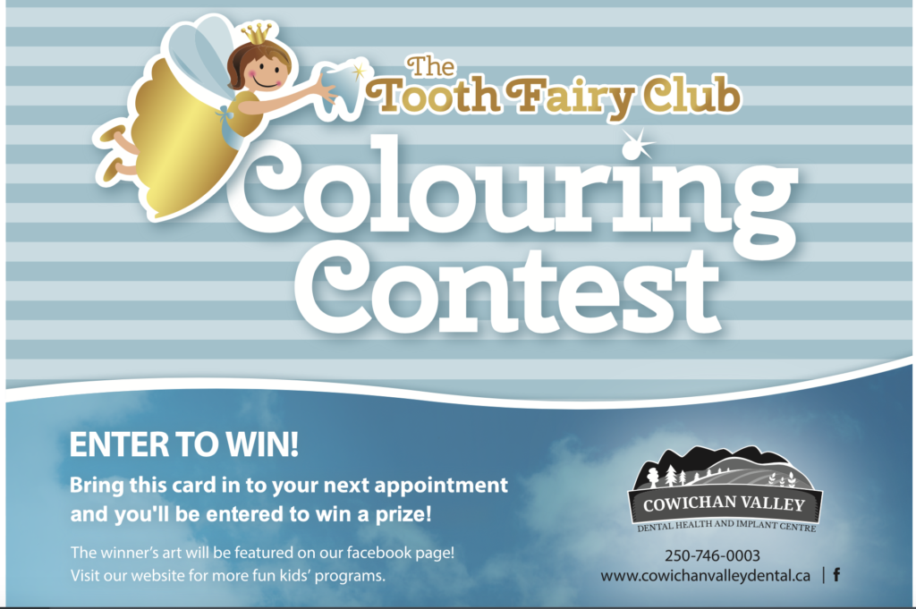 the tooth fairy club colouring contest